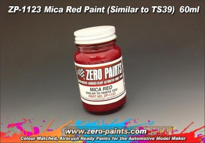 Mica Red Paint (Similar to TS39) - Zero Paints