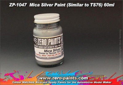 Mica Silver Paint (Similar to TS76) - Zero Paints