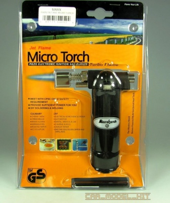 Micro Torch Turbo Flame Butane - MAXX