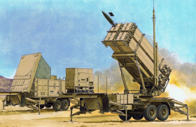 MIM-104F PATRIOT SURFACE-TO-AIR MISSILE (SAM) SYSTEM (PAC-3) (1:35) Model Kit military 3563 - Dragon