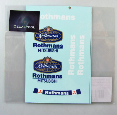 Mitsubishi Lancer EVO III Rothmans Option - Decalpool