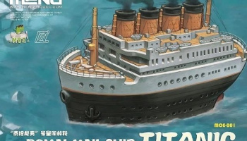 Royal Mail Ship Titanic - Meng Model
