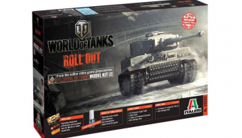 World of Tanks 36502 - Pz.Kpfw.VI TIGER I (1:35) - Italeri