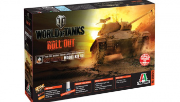 World of Tanks 36504 - M24 CHAFFEE (1:35) - Italeri