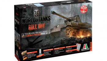 World of Tanks 36506 - PANTHER (1:35) - Italeri
