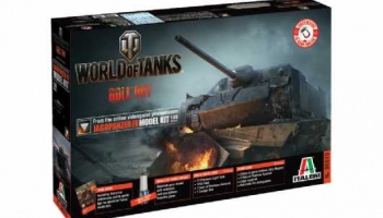 World of Tanks 36510 - JAGDPANZER IV (1:35) - Italeri