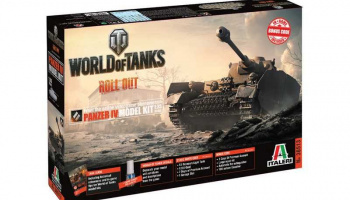 World of Tanks 36513 - Panzer IV (1:35) - Italeri
