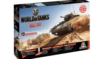World of Tanks 36514 - Crusader III (1:35) - Italeri