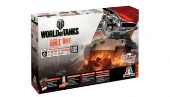 World of Tanks 56502 - Pz.Kpfw.V Panther (1:56) - Italeri