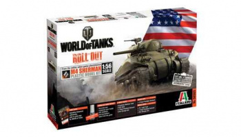 World of Tanks 56503 - M4 Sherman (1:56) - Italeri