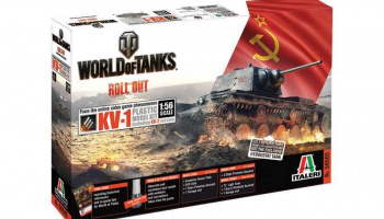 World of Tanks 56505 - KV1 (1:56) - Italeri