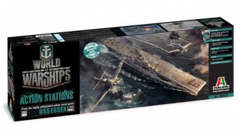 Model Kit World of Warships 46503 - U.S.S. ESSEX (1:700)