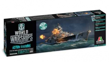 Model Kit World of Warships 46504 - TIRPITZ (1:700)