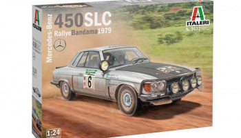 Mercedes-Benz 450SLC Rallye Bandama 1979 (1:24) Model Kit auto 3632 - Italeri