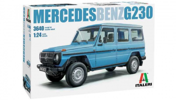 Mercedes Benz G230 (1:24) Model Kit 3640 - Italeri