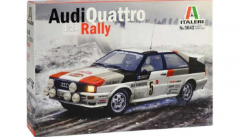 Audi Quattro Rally (1:24) Model Kit 3642 - Italeri