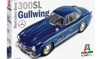 Mercedes Benz 300 SL Gullwing (1:24) Model Kit 3645 - Italeri