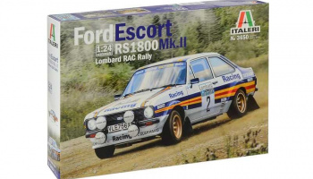 Ford Escort RS1800 MK.II Lombard RAC Rally (1:24) - Italeri Model Kit 3650