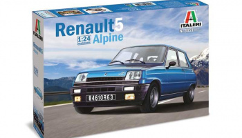 Renault 5 Alpine (1:24) Model Kit 3651 - Italeri