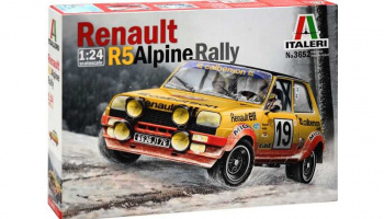 RENAULT R5 ALPINE RALLY (1:24) Model Kit 3652 - Italeri