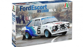 FORD ESCORT RS1800 Mk. II (1:24) - Italeri Model Kit 3655