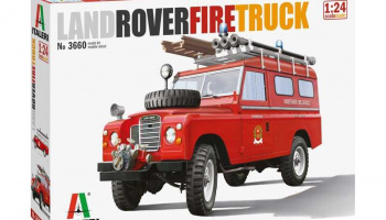 Land Rover Fire Truck (1:24) Model Kit 3660 - Italeri