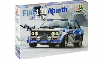 FIAT 131 Abarth Rally (1:24) Model Kit 3662 - Italeri