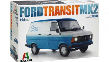 FORD TRANSIT Mk.2 (1:24 )Model Kit 3687 - Italeri
