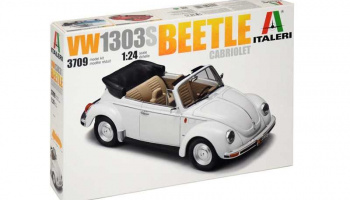 VW1303S Beetle Cabriolet (1:24) Model Kit auto 3709 - Italeri