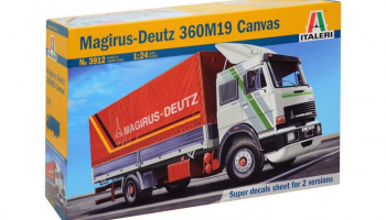 MAGIRUS DEUTZ 360M19 CANVAS (1:24) Model Kit 3912 - Italeri