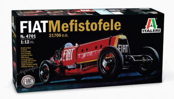 FIAT MEFISTOFELE (1:12) Model Kit 4701 - Italeri