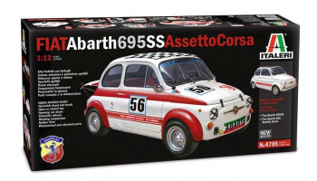 FIAT Abarth 695SS/Assetto Corsa (1:12) Model Kit 4705 - Italeri