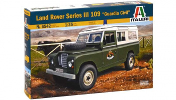 "LAND ROVER III 109 ""Guardia Civil"" (1:35) - Italeri"