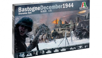 Model Kit diorama 6113 - BATTLE OF BASTOGNE (1:72) – Italeri