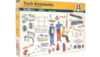 TRUCK ACCESSORIES (1:24) Model Kit 0720 - Italeri