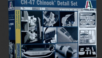 Model Kit doplňky 26002 - CH-47 CHINOOK SUPER DETAIL SET 1/48 (1:48)