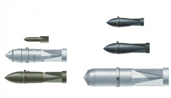 Model Kit doplňky 26101 - WW 2nd German aircraft weapons (I° bombs version) (1:72)