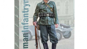 Model Kit figurka 7407 - German Infantryman (1:9) - Revell
