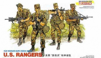 Model Kit figurky 3004 - U.S. RANGERS (1:35) – Dragon
