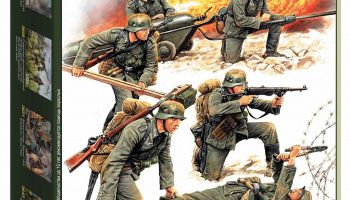 Model Kit figurky 3613 - German Sturmpioniere WWII (re-release) (1:35)