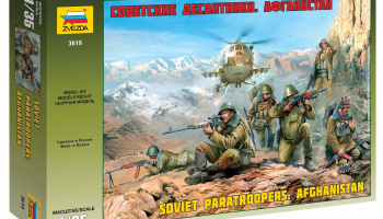 Model Kit figurky 3619 - Soviet Paratroops Afghanistan (1:35)