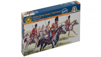 "Model Kit figurky 6001 - BRITISH ""SCOT GREYS"" (NAP.WARS) (1:72)"