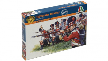 Model Kit figurky 6004 - NAPOL. WARS: HIGHLANDER INFANTRY (1815) (1:72)