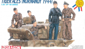 Model Kit figurky 6028 - TIGER ACES (Normandy 1944) (1:35)