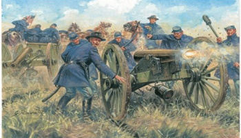 Model Kit figurky 6038 - UNION ARTILLERY (AMERICAN CIVIL WAR) (1:72)