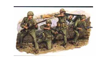 Model Kit figurky 6038 - US MARINES (IWO JIMA 1945) (1:35)
