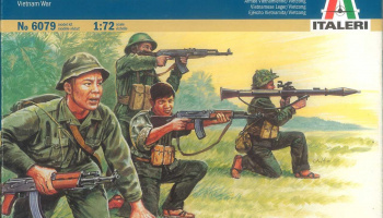 Model Kit figurky 6079 - VIETNAM WAR - VIETNAMESE ARMY / VIETCONG (1:72)