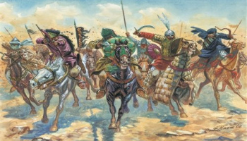 Model Kit figurky 6126 - ARAB WARRIORS (MEDIEVAL ERA) (1:72)