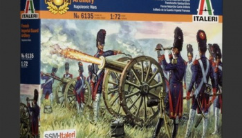 Model Kit figurky 6135 - FRENCH IMPERIAL GUARD ARTILLERY (NAP. WARS) (1:72)