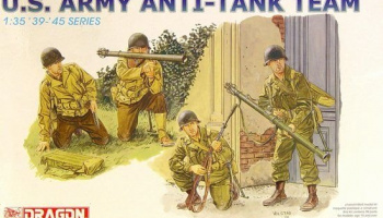 Model Kit figurky 6149 - US ARMY ANTI-TANK TEAM (1:35) – Dragon